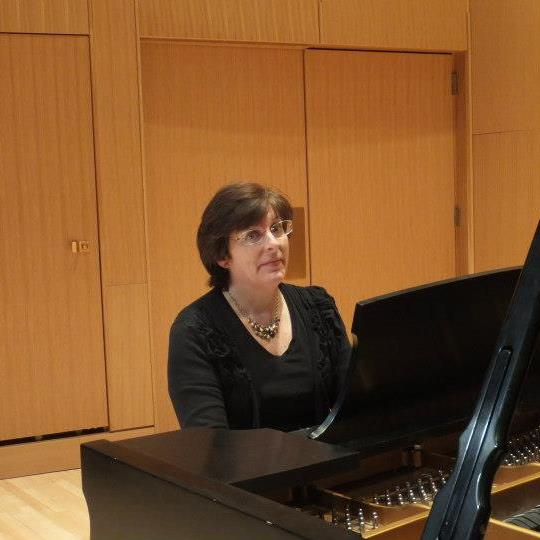 Gail in Cook Recital Hall